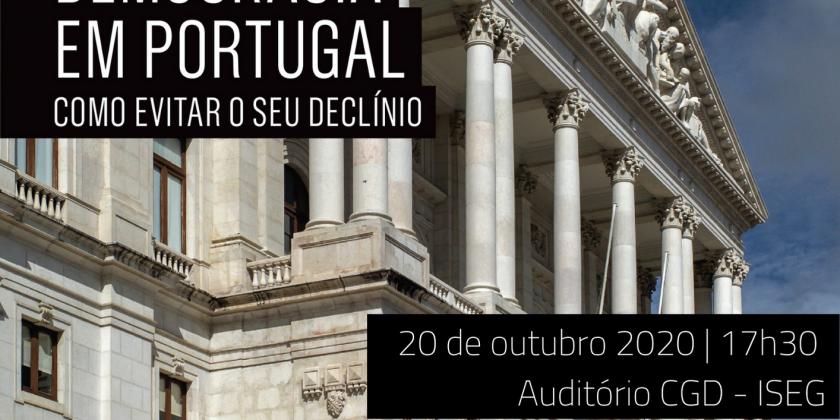Lançamento Livro IPP  A Democracia em Portugal: Como evitar o seu declínio?